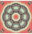 Stylized seamless mandala flower for greeting card vector image vector image