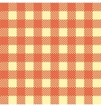 Seamless Vintage Square Pattern Red Geometric vector image