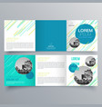brochure design 947 vector image vector image