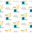 cat pat accessory cute animal icons vector image vector image