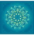 Decor Blue vector image