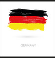 germany colorful brush strokes painted national vector image vector image