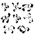 Guys Dancers vector image vector image