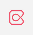 premium letter c logo design vector image
