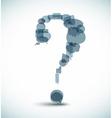question mark icon vector image vector image