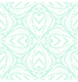 Abstract floral white pattern vector image vector image