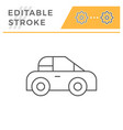 car line icon vector image