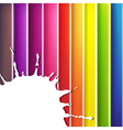 colorful background with blob vector image vector image