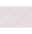 colors lines on white background abstract pattern vector image