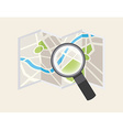 gps signals vector image vector image