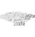 look word cloud concept vector image vector image