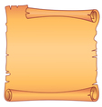 parchment square scroll vector image