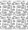 Country seamless pattern vector image vector image