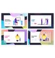 creative idea in business development website vector image vector image