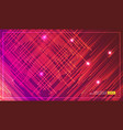 diagonal stripes lines falling with glowing light vector image