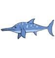 ichthyosaurus vector image vector image