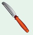 Peeler knife vector image vector image