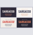 Sargasso bold semibold oblique and grunge san