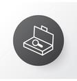 search luggage icon symbol premium quality vector image