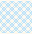 white and blue geometric seamless pattern subtle vector image vector image
