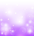Abstract purple background with stars vector image vector image