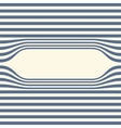 Abstract striped wallpaper frame vector image vector image