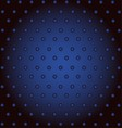 Dark Blue Abstract Background With Dot For Modern vector image vector image