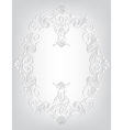 Frame in the Art Nouveau style vector image vector image