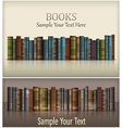 Number of books vector image vector image