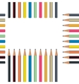 Pencil Seamless Pattern vector image