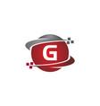 technology transfer letter g vector image vector image
