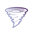 tornado icon image vector image vector image
