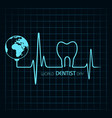 world dentist day design 6 march vector image vector image
