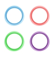 Abstract circles frame vector image