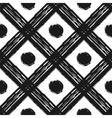 grunge seamless pattern black white diagonal vector image vector image