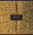 halftone vintage golden texture vector image vector image