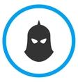 Knight Helmet Icon vector image vector image
