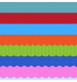 set 7 header backgrounds vector image vector image