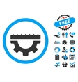 Water Control Options Flat Icon with Bonus vector image