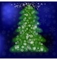 Blurred Pine vector image