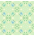 Spring simple and clean pattern with flowers vector image