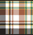 check plaid seamless pattern vector image vector image