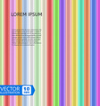 Colorful Shiny Rods vector image vector image