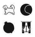 cords textiles nature and other web icon in vector image vector image