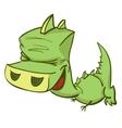 Of Ccute Cartoon Baby Dragon vector image vector image