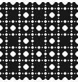 polka dot seamless pattern black white subtle vector image vector image