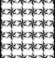 seamless pattern black and white repeating vector image vector image