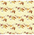 Seamless pattern with autumn wild grape vector image