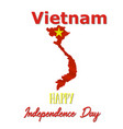 2 september vietnam independence day background vector image