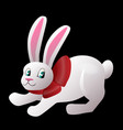 bunny isolated vector image vector image